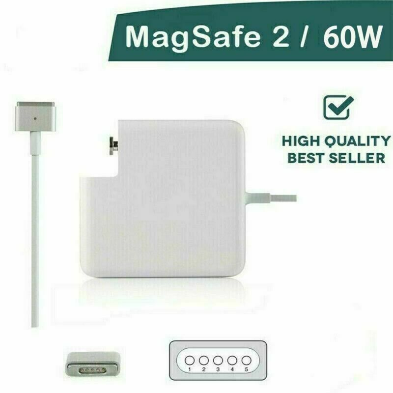 Compatible Macbook Magsafe 2 T-shape Power Charger 60W